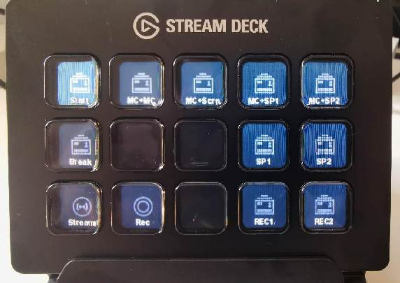 Stream Deck hardware.