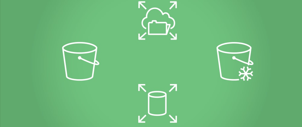 Cover image for AWS Storage Options