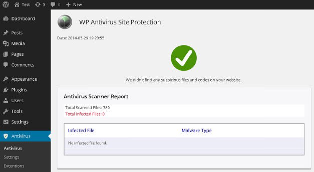 wordpress security scanner online
