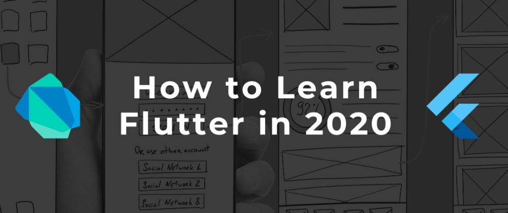 Cover image for How to Learn Flutter in 2020