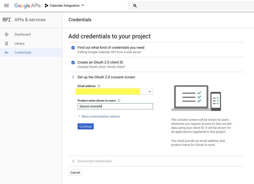 Integrating Google Calendar with a Laravel site - DEV Community
