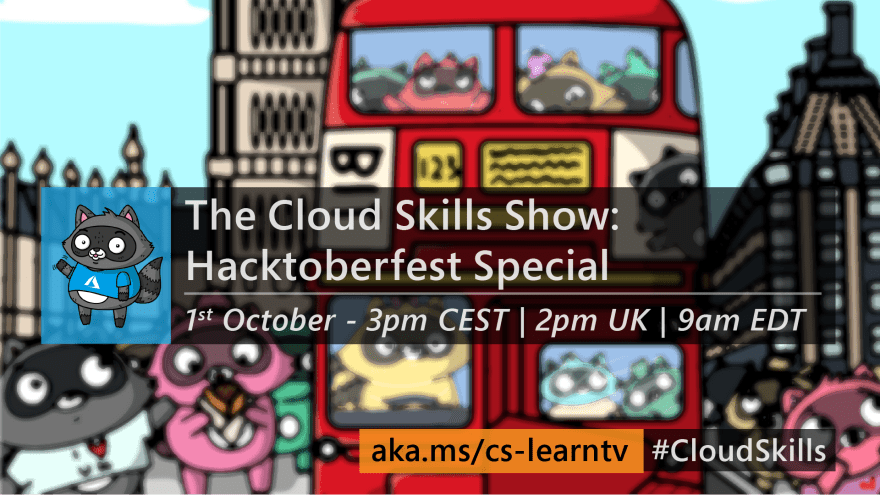 Graphic for this week's Cloud Skills Show