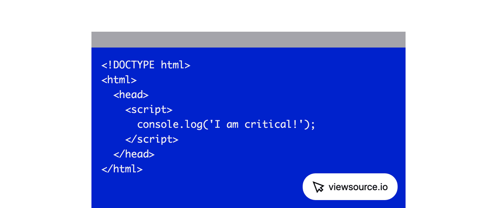 Cover image for Generate a Critical JavaScript Bundle Using Rollup