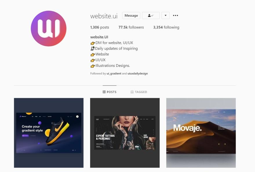 website-UI