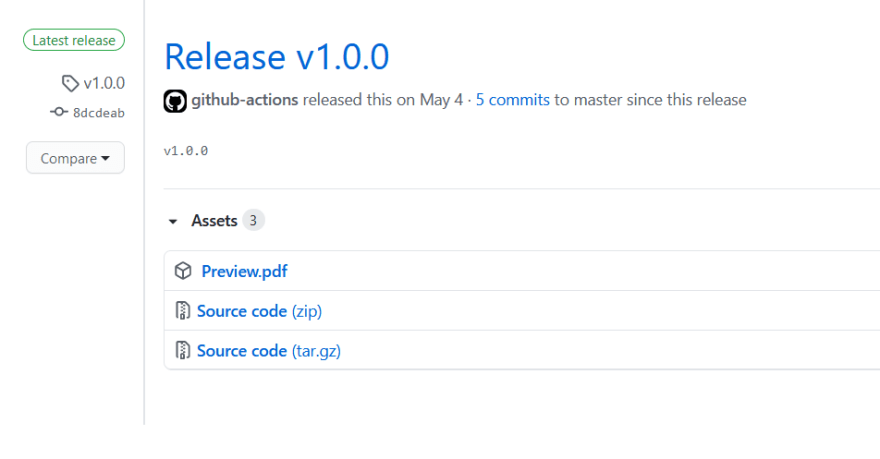 Release Workflow