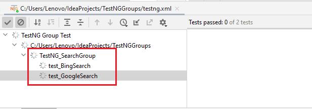 TestNG tag