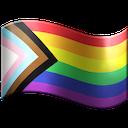inclusive pride flag emoji