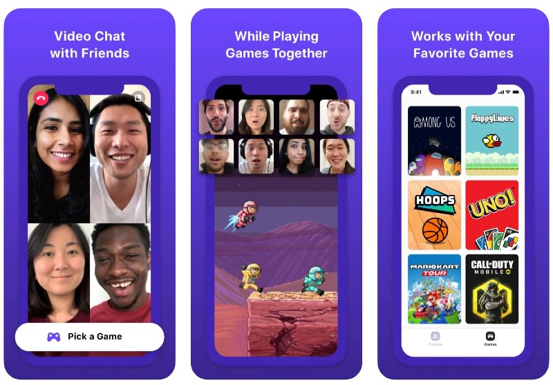 React Native apps: Bunch app screenshots