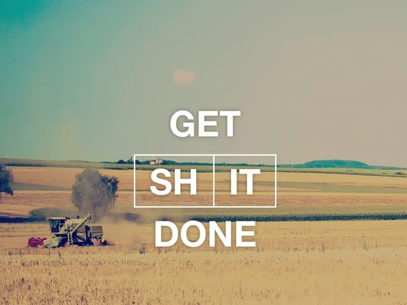 Get Shit Done Kit