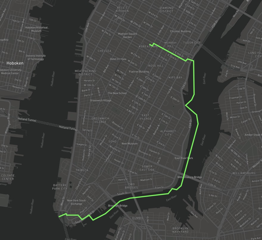 Drawing Mapbox Route Objects via the Directions API