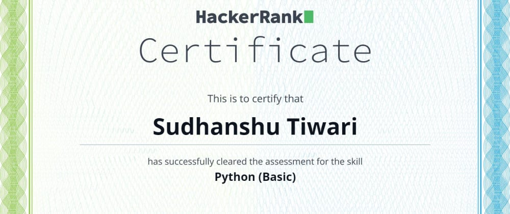 Cover image for Python Basics on Hackerrank