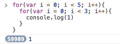 var 5x3 loop