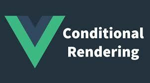 Vue Logo with text Conditional rendering