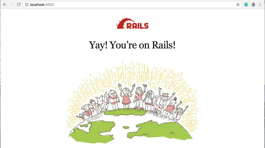 Rails Intro Page