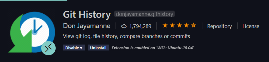 Git History
