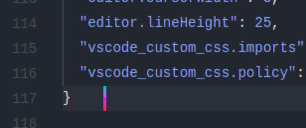 Cover image for Change Cursor Colour in VS code 🤯