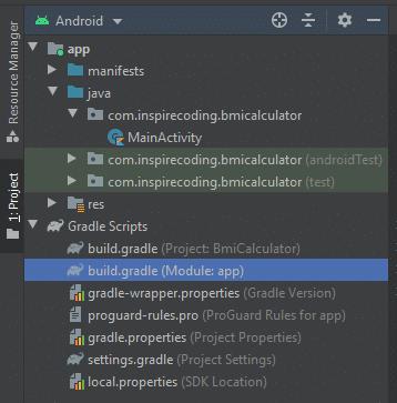Module build.gradle