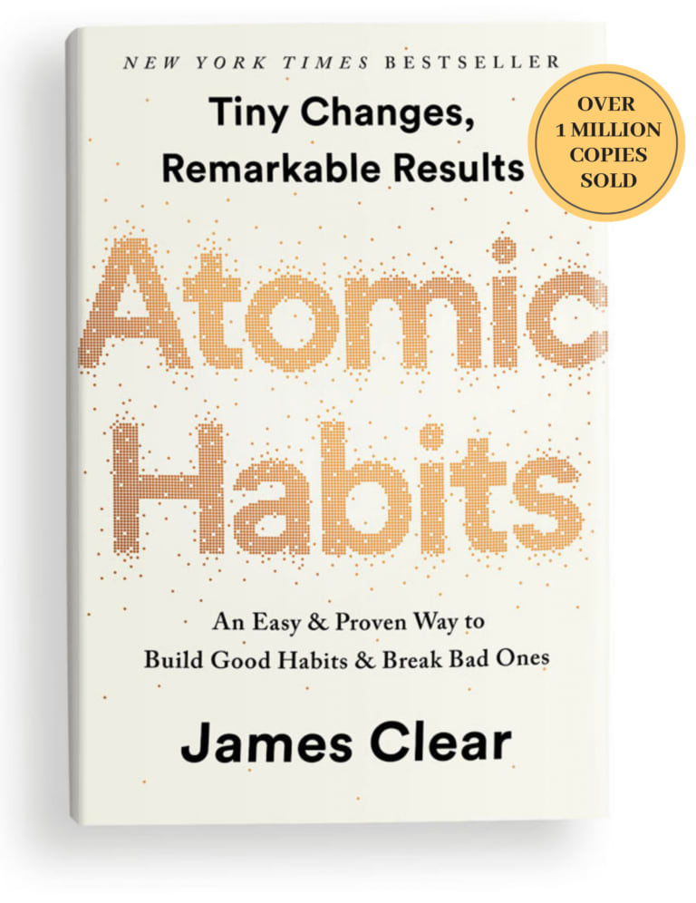 Atomic Habits book by James Clear