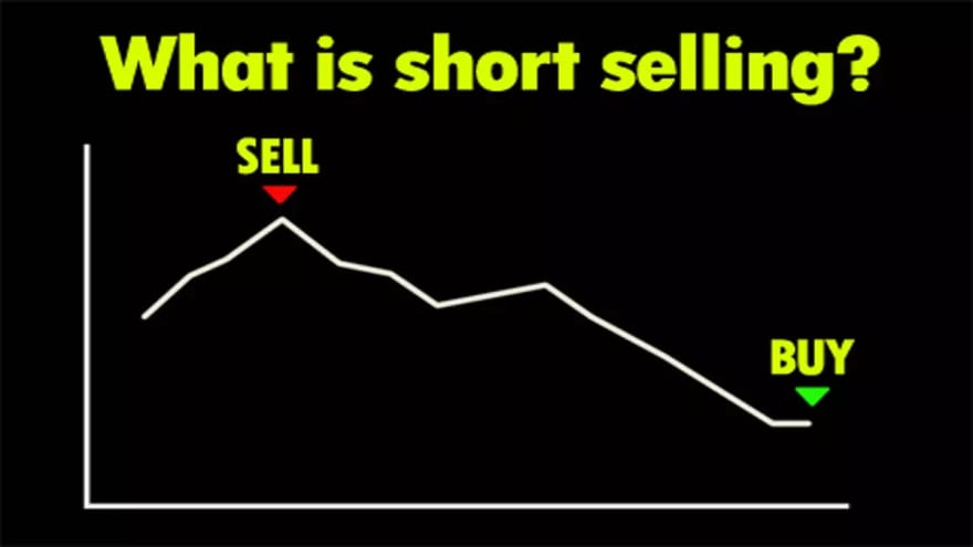 Graph of a short sell