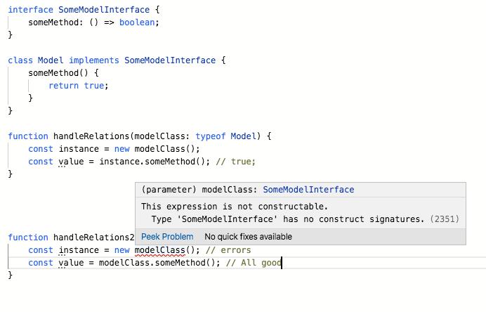 TypeScript playground snapshot