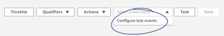 Lambda Test Configuration