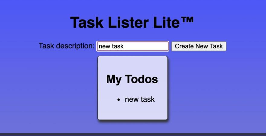 new tasks added