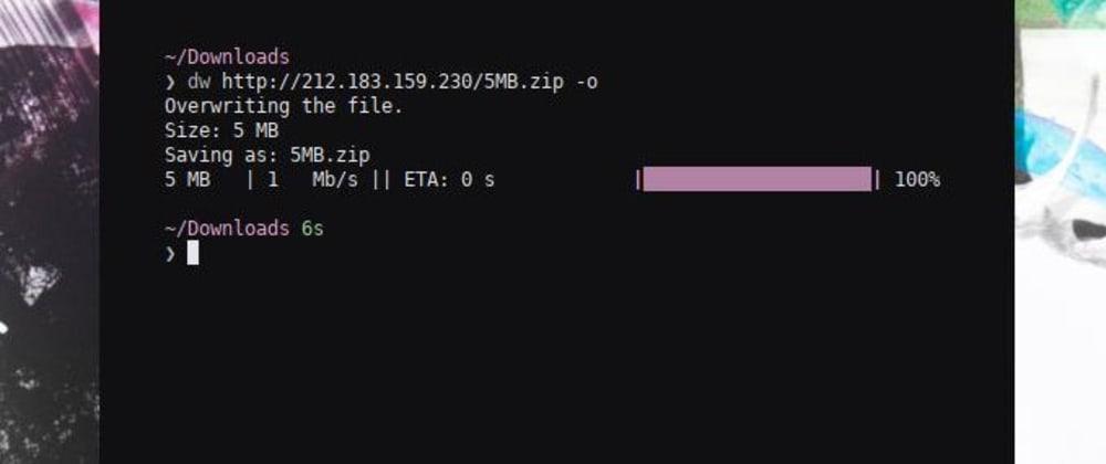 Cover image for Write a responsive progressbar for the commandline using Python.