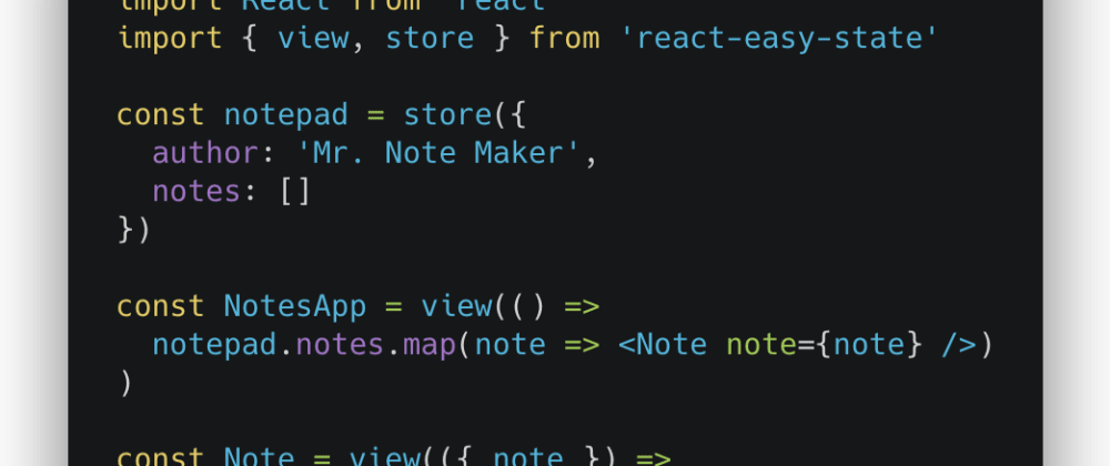 Cover image for The Ideas Behind React Easy State: Utilizing ES6 Proxies