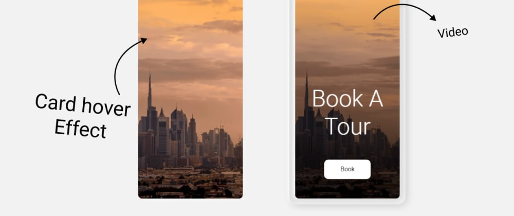 Cover image for Awesome card hover effect with CSS, HTML.