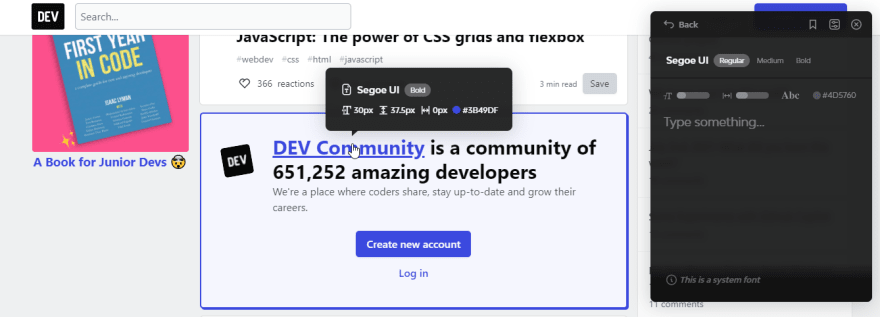 Better UI Font Ninja