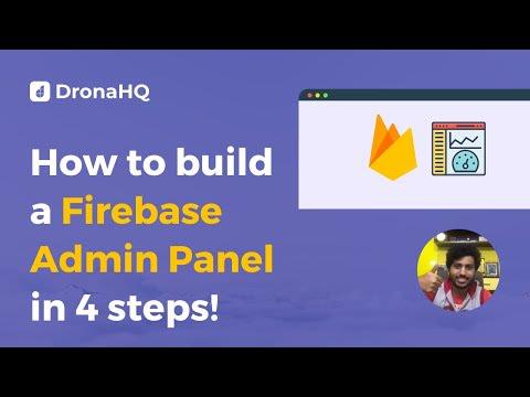 How to build firebase gui