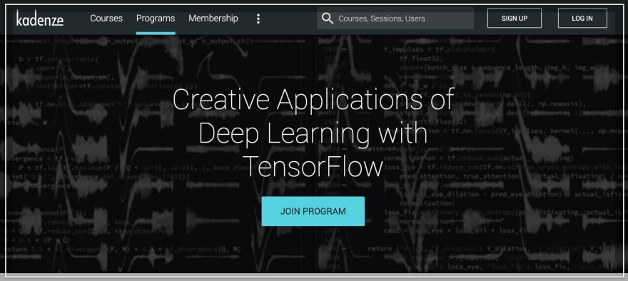 Creative Applications of Deep Learning with TensorFlow