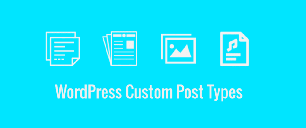 Cover image for Wordpress concepts: Post types, The most basic things