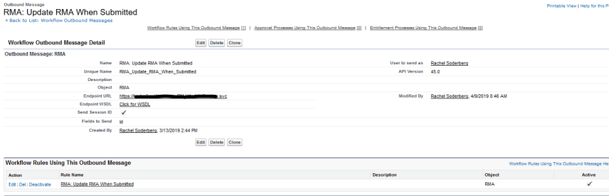 Retrieving and Updating Salesforce Object Fields With a Web