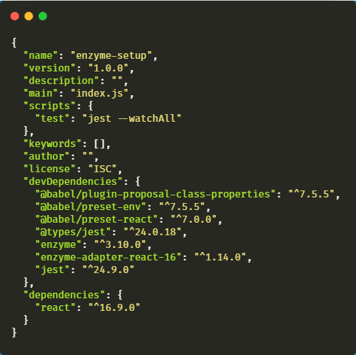 React Testing with Airbnb's Enzyme, Jest and Babel - DEV