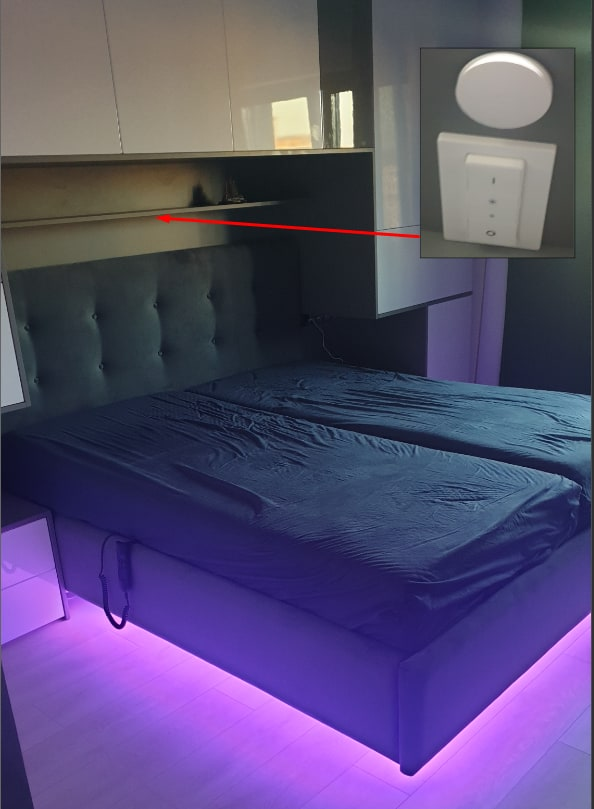 Bed switches