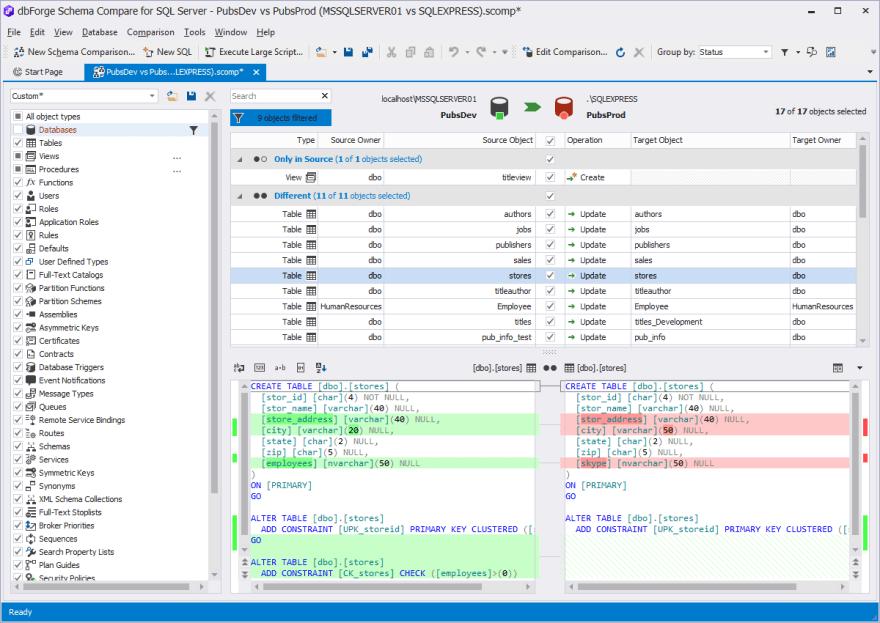 dbForge_SQLServer_Update
