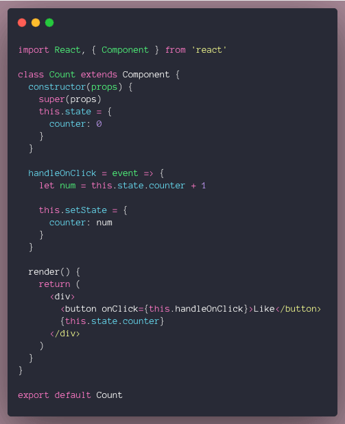 coding with setState the correct way