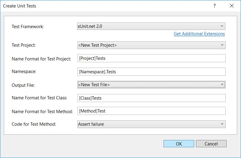 Create test context