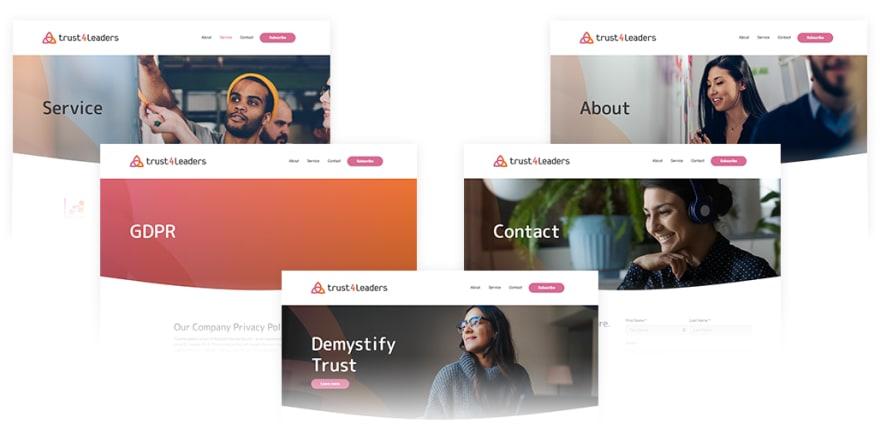 5 Banner Screens