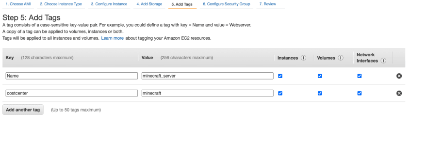 Instance Tags