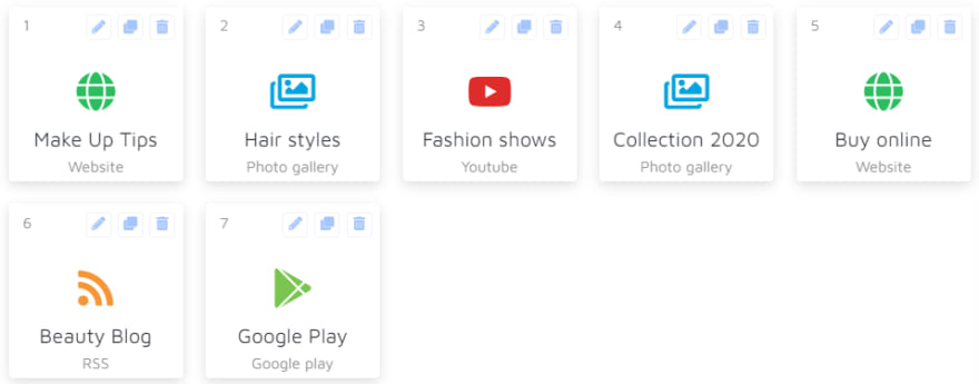 Andromo fashion app activities