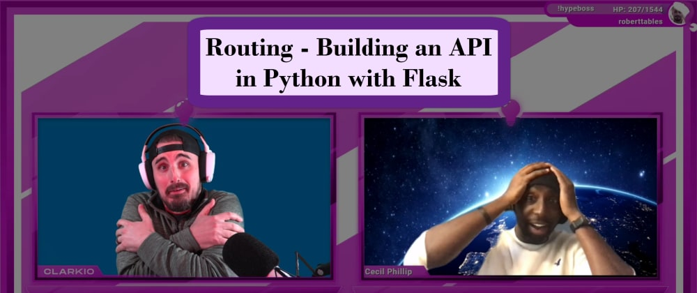 Cover image for Routing - Building an API in Python with Flask