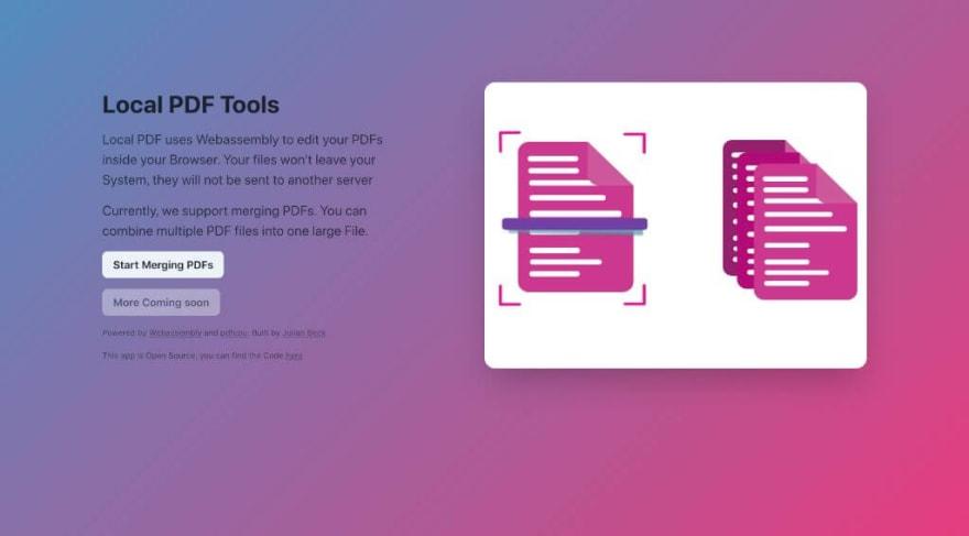 Local PDF Tools