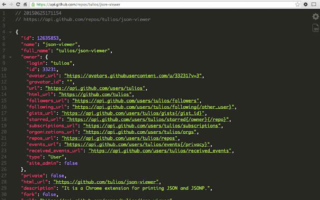 JSON Viewer Chrome Extension