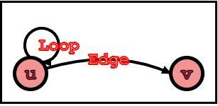 An edge and a loop