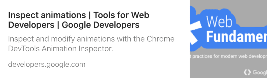 Link to Google Developers site