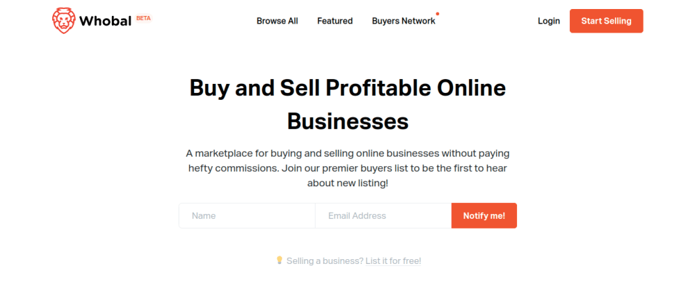 Cover image for A marketplace for buying and selling side-projects