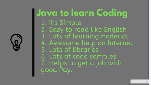Why Java is the best language to Learn Programming and Coding for Beginners
