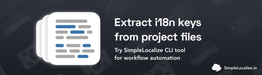 simplelocalize extract i18n